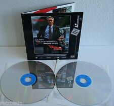 In the Line of Fire | Eastwood | Laserdisc PAL Deutsch | LD: Sehr Gut | Cover: G