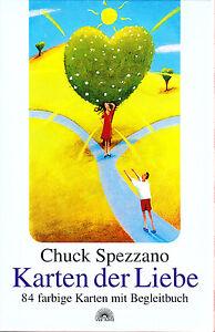 Chuck-Spezzano-Karten-der-Liebe-84-farbige-Karten-mit-Begleitbuch-alte-Auf