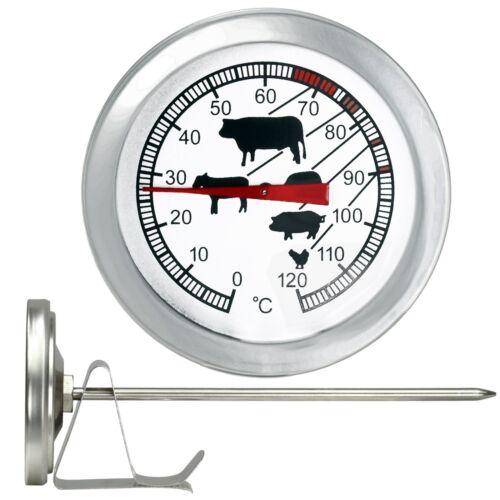 Räucherofen Räucher Thermometer Räucherkammer Klammer Grill Fleisch Spitz Sonde