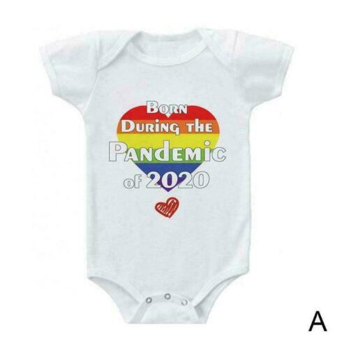 1*Newborn Baby Long//Short Sleeve Bodysuit Romper Triangle Climbing Baby M2V5