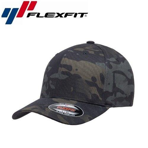 Flexfit Classic Multicam Baseball Cap L//XL Camouflage Schwarz