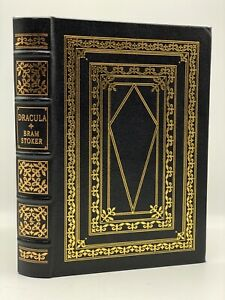 Easton-Press-DRACULA-Bram-Stoker-Collectors-LIMITED-Edition-Leather-Bound-HORROR
