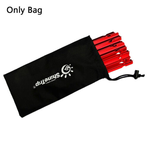 Tent Pegs Bag Camping Tent Accessories Hammer Wind Rope Tent Nail Storage