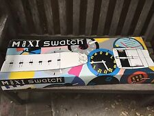 SWATCH Maxi Wall Clock New In The Box Frito  Misto 1992 Rare