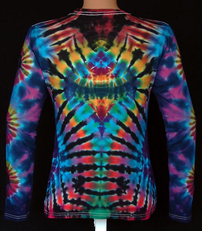 DAMEN T-Shirt T-Shirt T-Shirt Gr. S -5XL langarm handgefärbt. Hippie Tie dye Batik Psy Goa NEU     | Adoptieren  | Spaß  | Modern Und Elegant In Der Mode  | München  | Deutschland  37c945