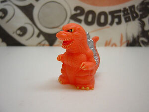 SD GODZILLA Burning GODZILLA 28-1-03 TOHO Tokusatsu Kaiju Mini Figure Japan