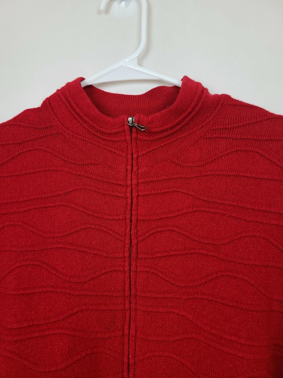 Coldwater Creek Womens Cardigan Sweater Medium Re… - image 2