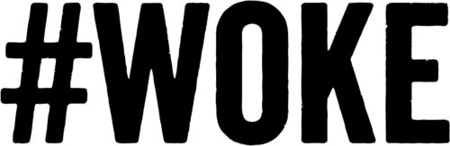 #woke vinyl decal sticker conciousness mindfulness conspiracy