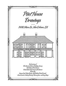 Pitot House Drawings New Orleans Architectural House Plans