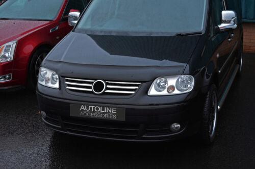 04-09 Bonnet Trim Protector Bug Guard Wind Deflector To Fit Volkswagen Caddy
