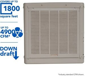 Champion Evaporative Swamp Cooler 4900 Cfm Down Draft Roof