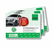 Auto 10 x Fahrtenbuch DIN A6 20Blatt Fahrtenbücher PKW fahrten hilpert