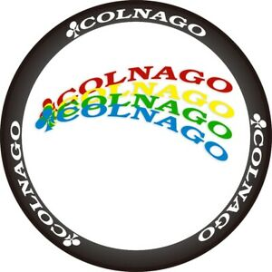 Two Wheel Sticker for Colnago Road Bike Bicycle Cycling Decal Rim / Disc Brake