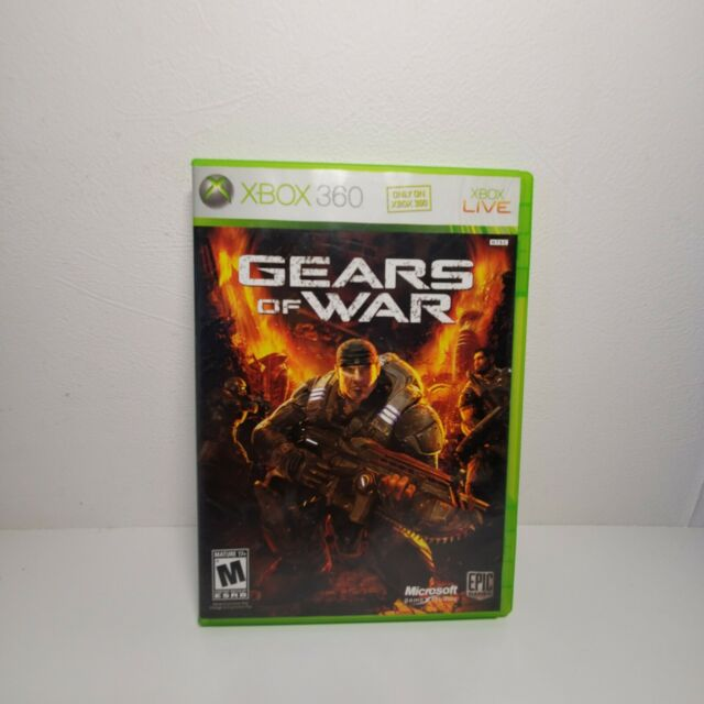 Gears of War (Microsoft Xbox 360, 2006)**Free Shipping**