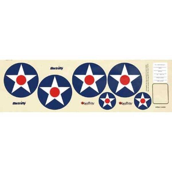 Great Planes Decal Sheet Rifle EP ARF GPMA2724