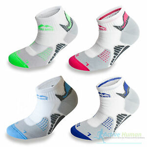 3-Pairs-More-Mile-San-Diego-Padded-Sports-Ankle-Running-Socks-Mens-Ladies-Womens