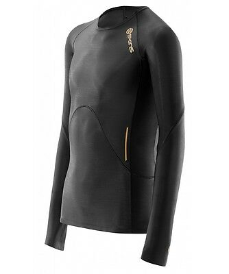Black//Gold bargain Skins Compression A400 Youth Short Sleeve Top NEW!
