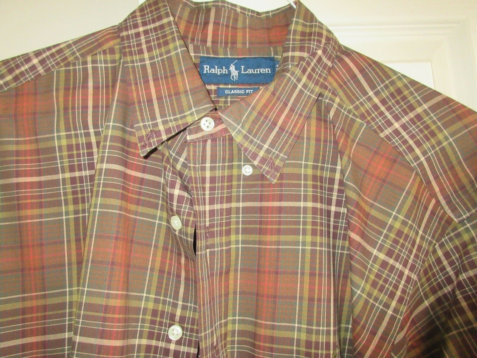 Ralph Lauren , Size XL / 17, Men's Long Sleeve Shirt ,