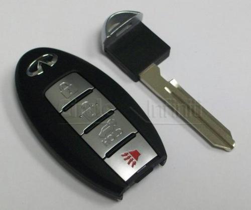New OEM Infiniti QX56 Keyless Remote & Uncut Key