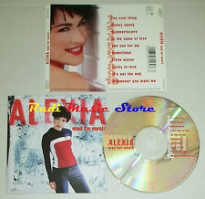 CD ALEXIA Mad for music 2001 holland EPIC EPC 503153 2 mc lp dvd