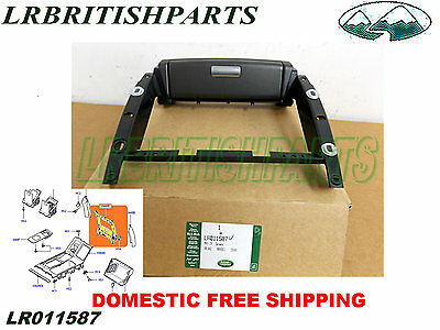 LAND ROVER CONSOLE FINISHER REAR LESS DVD SCREEN RANGE ROVER 10-12  OEM LR011587