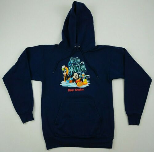 Vintage Disney Splash Mountain hooded sweatshirt t