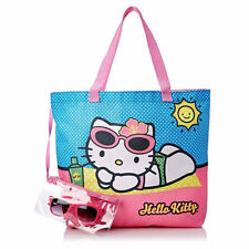 a281558de8 Hello Kitty Summer Tropics Beach Tote With Sunglasses