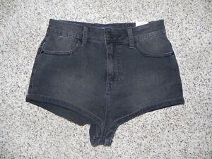 536b1cec5b BDG Shorts Super High Rise Short Short Denim Jean Size 29 Black Wash ...