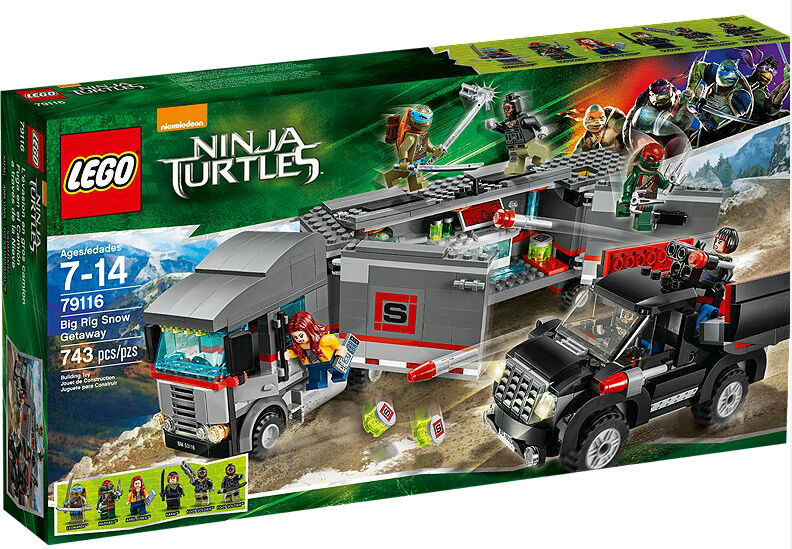 LEGO Teenage Mutant Ninja Turtles Flucht mit dem Sattelzug (79116)