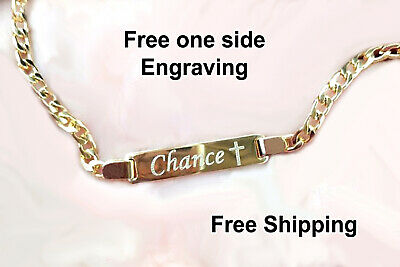 Baby Bracelet 18k Personalized