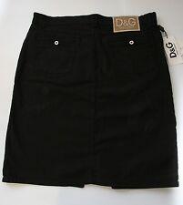 Dolce & Gabbana Womens Black Skirt Size 16 D&G Designer Skirt NWT Gift for Her