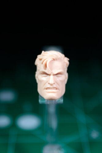 Custom Resin head cast for 6in. figure 1:12 Punisher Captain