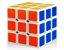SHENGSHOU SHS LINGLONG 46mm 3x3x3 Magic Rubik's Cube Rubix Fast Easy Spin White