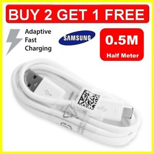 Fast-Charger-0-5M-USB-Data-Sync-amp-Cable-Lead-for-Samsung-Galaxy-S5-S6-S7-amp-Edge