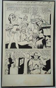 1967 Bob Oksner The Adventures of Bob Hope #105 Page 5 Original Art DC Comics