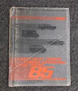 1985 GMC K1500 K2500 K3500 Suburban Factory Electrical Wiring Diagram  Manual | eBayeBay