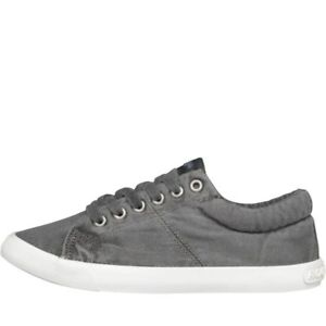 ROCKET DOG WOMENS CAMPO BEACH CANVAS PUMPS - GREY - SIZE 5 - BNIB