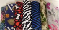 "Fleece Blanket Throw 50"" X 60"" New Assorted Styles"