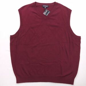 Mens Roundtree Yorke Big And Tall Sweater Vest Ebay