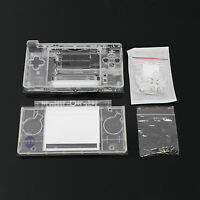 Full Replacement For Nintendo Ds Lite Housing Shell Screen Lens Crystal Clear Us