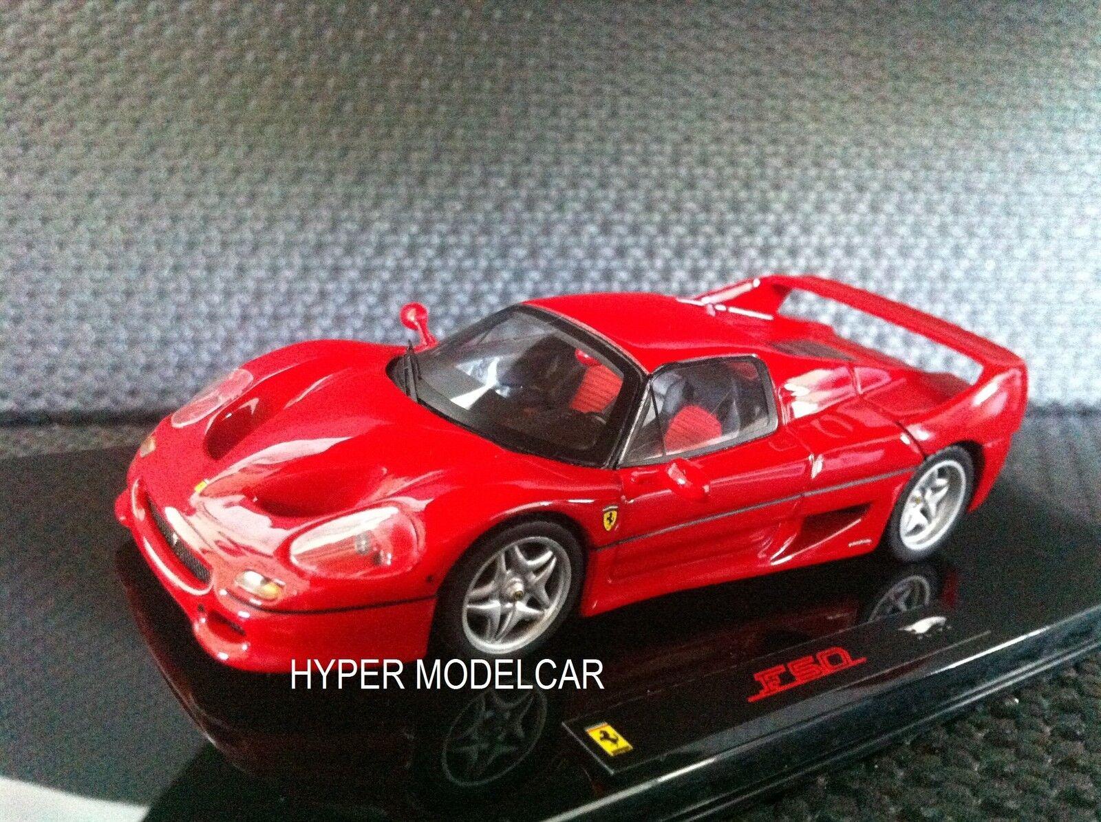HOT WHEELS ELITE 1 43 Ferrari F50 1995  Red Art. P9933