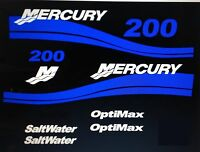 Mercury Outboard Motor Blue 90 Hp - 275 Hp Optimax Or Efi Saltwater