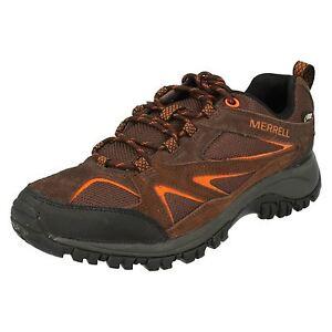 Gore Scarpe trekking scuro tex Walking marrone impermeabile Phoenix Merrell da Outdoor Mens Bluff qnwx8tHvvB