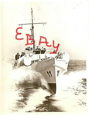 WWII photo German torpedo boat leaves the harbor of occupied Rotterdam//15y