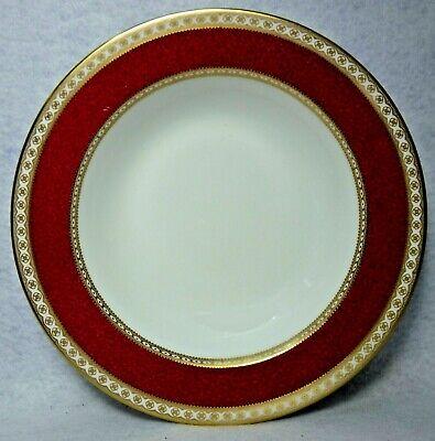 "8/"" WEDGWOOD china ULANDER RUBY W1813 pattern Salad Plate"