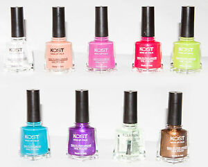 Image Is Loading Nail Polish Lacquer Kost New Summer Colors 11ml