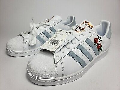 Wonderbaar New! Adidas Superstar Womens Shoes CG5939 In Periwinkle/Custom Red ZX-14