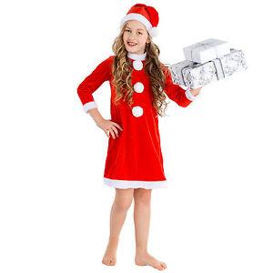 1c705e87678b0 Déguisement de lutin de noël elfe santa claus pour fille costume ...