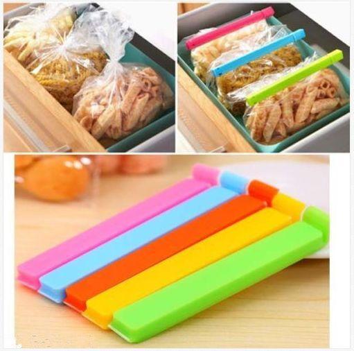 6PCS Kitchen Storage Bag Clip Fresh Food Seal Stick Bulk for Food Kitchen HOT