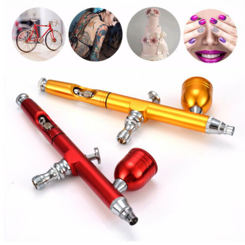 Double Action Trigger Metal Paint Tattoo Tool Spray Gun Nozzle Spray Airbrush